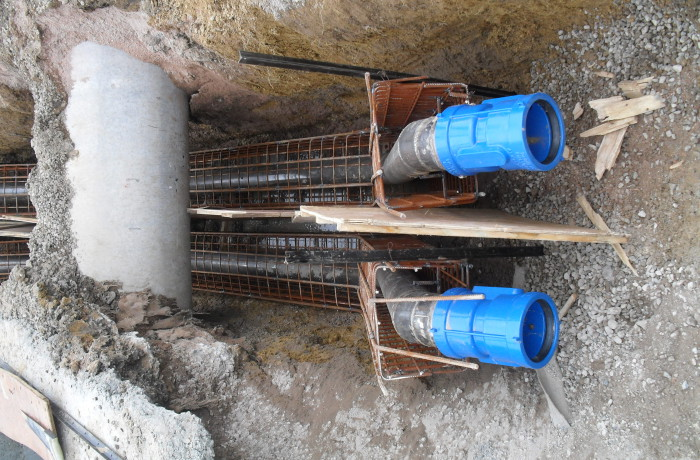 Steel watermains